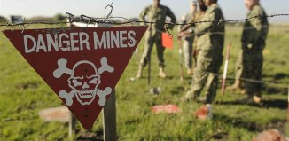 remote landmine detection
