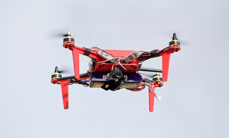 unit of weaponized drones