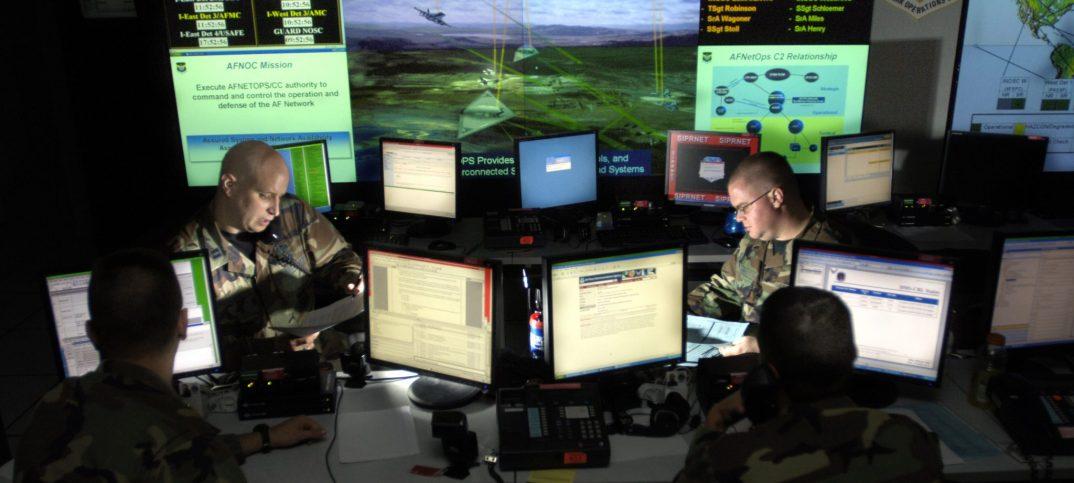 Air Defense System Control Room