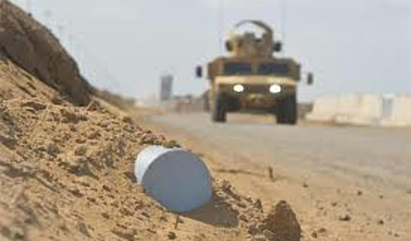 IEDs Used Against Armored Vehicles