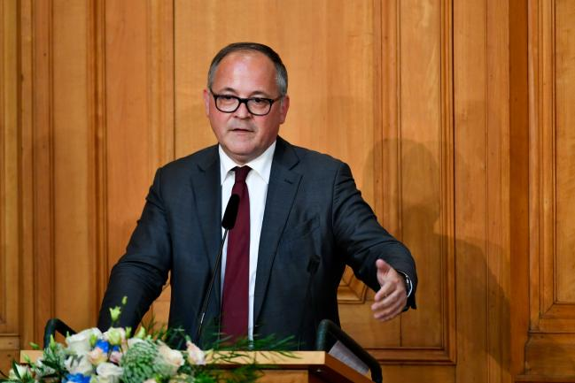 © Bloomberg. Benoit Coeure, executive board member of the European Central Bank (ECB), delivers a speech at a conference to celebrate the 350th anniversary of the Riksbank in Stockholm, Sweden, on Friday, May 25, 2018. The central bank has embarked on an historic monetary easing program over the past years to bring back inflation, using a weaker krona to help achieve its goal.