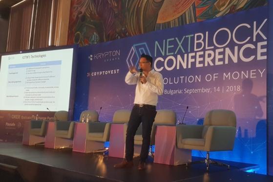 NEXT BLOCK: IOTW Advisor Denis Lam Speaks about Unique IOTW Technology and Blockchain Mass Adoption Issues