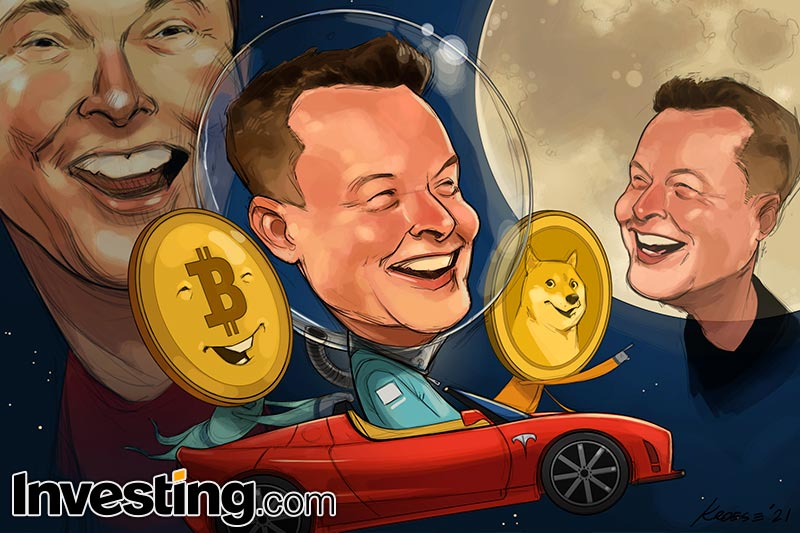 Elon Musk pensa ad una sua criptovaluta