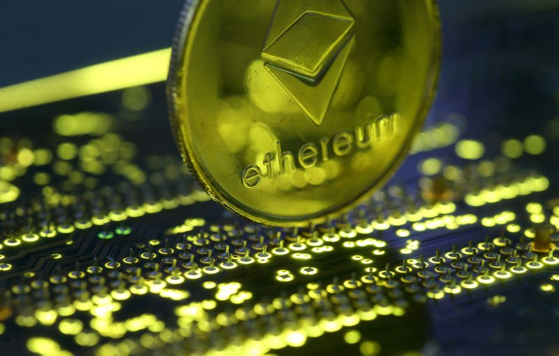 ©  Reuters L'Ethereum in rally e  del 10%