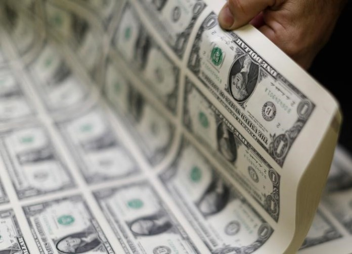 © Reuters. The U.S. dollar was slightly higher on Friday.