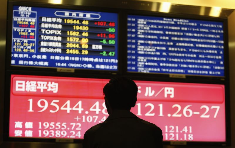 Asian Stocks Mixed, Fed Maintains Dovish Stance in March Meeting Minutes