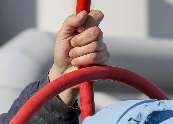 © Reuters.  I futures del Gas Naturale in ribasso durante la sessione U.S.A.