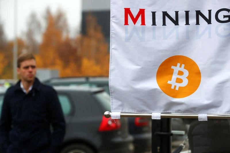 © Reuters.  Bitcoin fell on Tuesday.