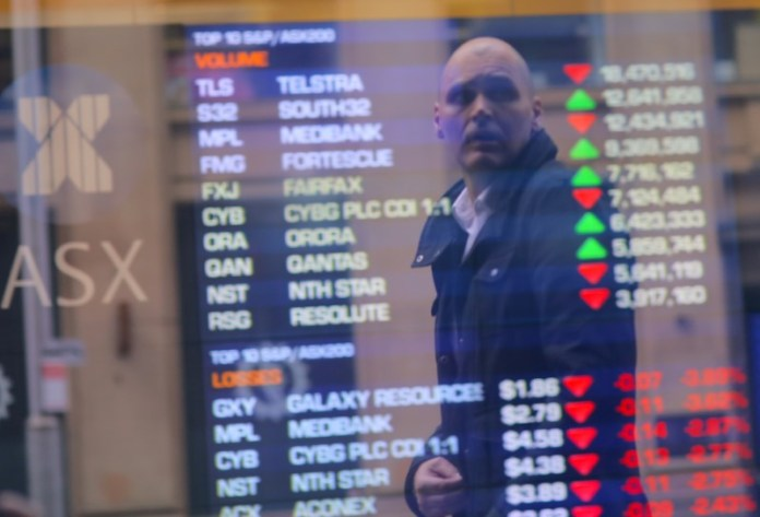 © Reuters.  Australia stocks higher at close of trade; S&P/ASX 200 up 0.71%