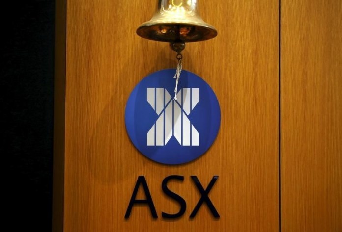 © Reuters. Australia stocks lower at close of trade; S&P/ASX 200 down 0.49%