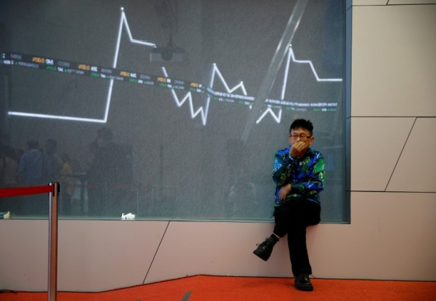 © Reuters. Indonesia stocks lower at close of trade; IDX Composite Index down 1.72%