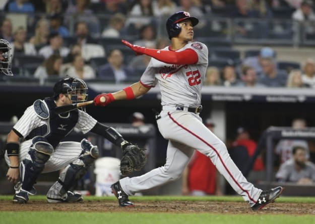 © Reuters. MLB: Washington Nationals at New York Yankees