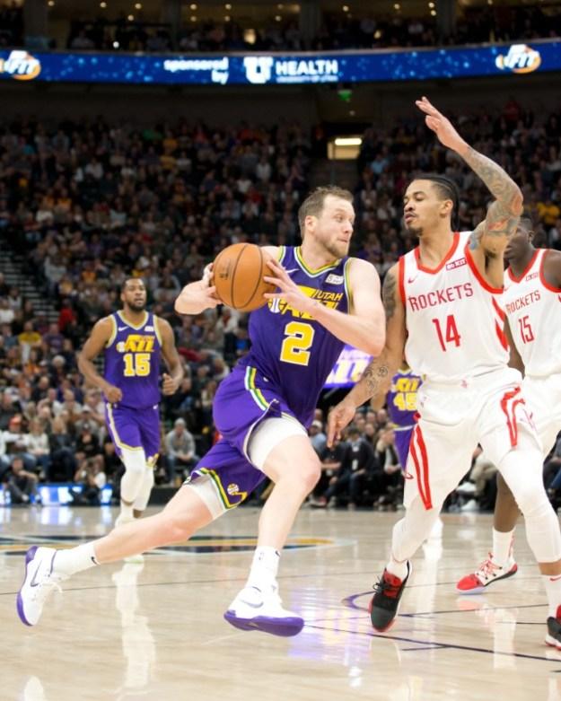 © Reuters. NBA: Houston Rockets at Utah Jazz