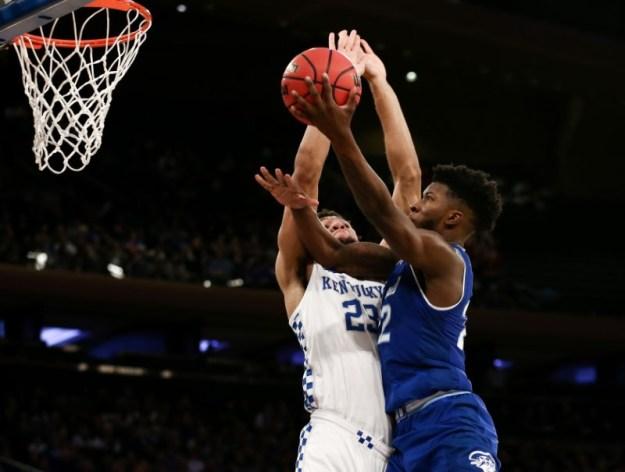 © Reuters. NCAA Basketball: Kentucky at Seton Hall