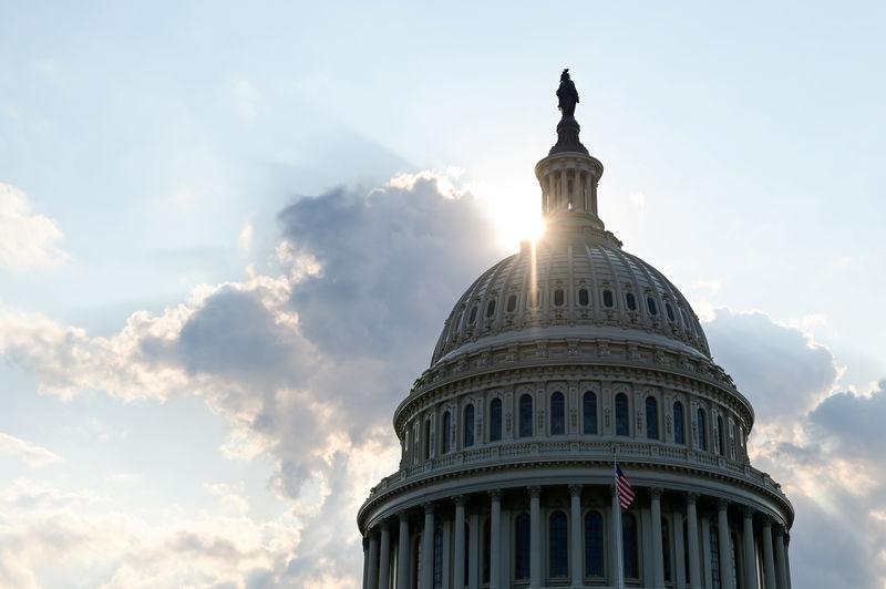 © Reuters. Cúpula del Capitolio de los EE. UU.
