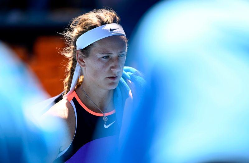 Tennis: Injured Azarenka withdraws from Qatar Open semis, Muguruza into final