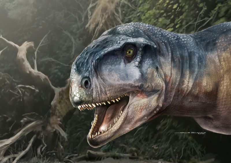 Carnivorous dinosaur with short snout and strong bite menaced Patagonia