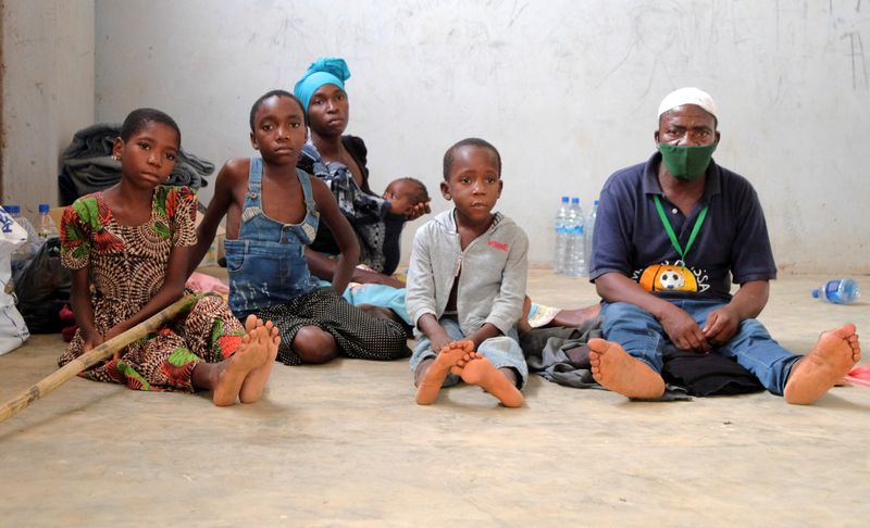 Mozambique city overwhelmed by people fleeing Islamist violence