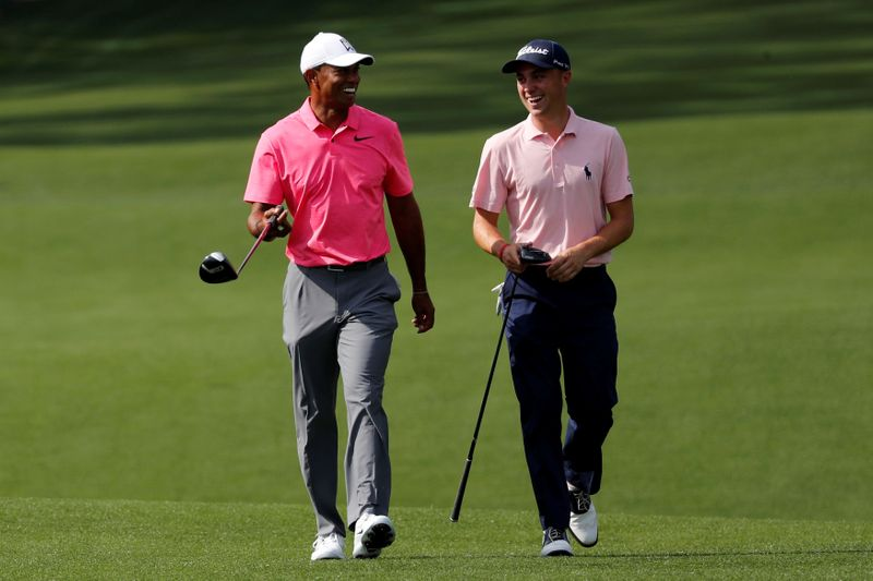 Thomas missing injured Woods in build-up to Masters