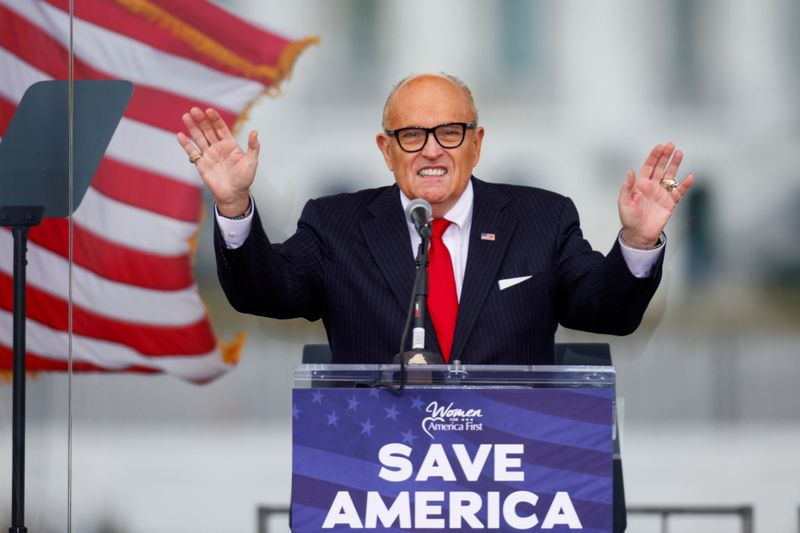 Giuliani's home searched as U.S. probe of former Trump lawyer intensifies