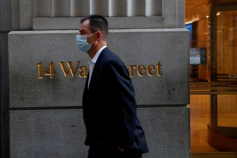 Wall Street ready to toast a New York revival but trade business suits for leisure wear