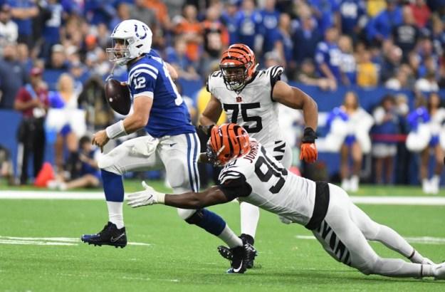 © Reuters. NFL: Cincinnati Bengals at Indianapolis Colts
