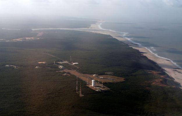 © Reuters. A general view of Alcantara space center in Alcantara