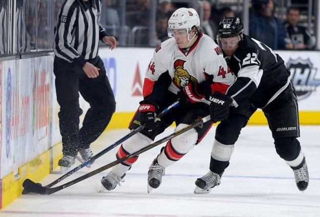 © Reuters. NHL: Ottawa Senators at Los Angeles Kings