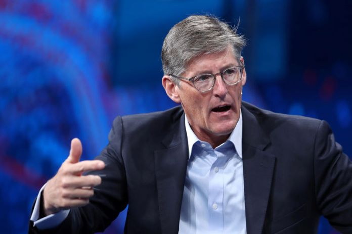 © Reuters. FILE PHOTO: CEO of Citigroup Corbat speaks at the Milken Institute's 21st Global Conference in Beverly Hills