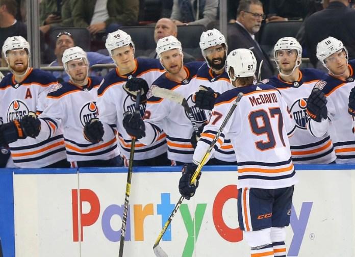 © Reuters. NHL: Edmonton Oilers at New York Rangers