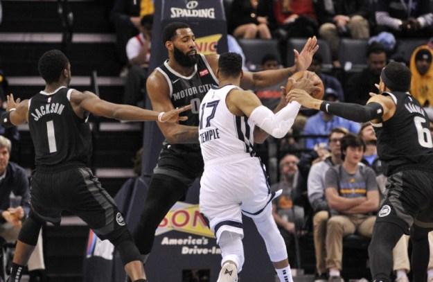 © Reuters. NBA: Detroit Pistons at Memphis Grizzlies