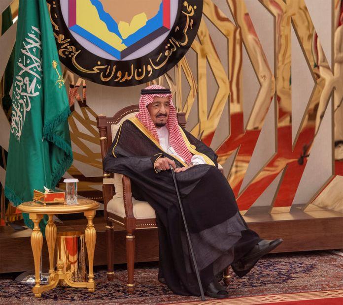 © -. Saudi Arabia's King Salman bin Abdulaziz is seen during the Gulf Cooperation Council (GCC) summit in Mecca