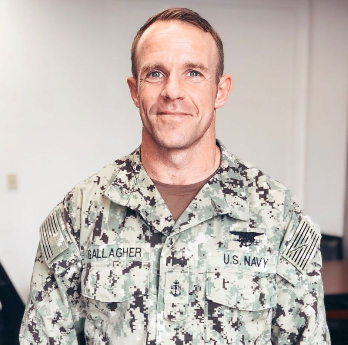 © -. Handout photo of U.S. Navy SEAL Special Operations Chief Edward Gallagher
