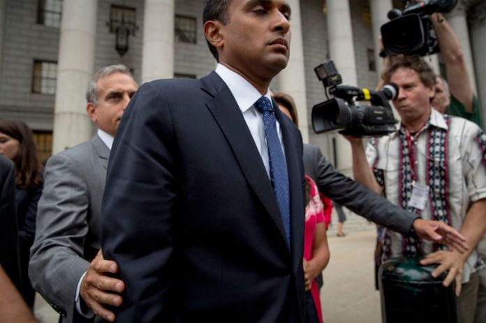 © -. Martoma exits the U.S. District Court for the Southern District of New York  in Lower Manhattan