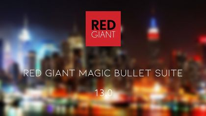 Red Giant Magic Bullet Suite 13.0