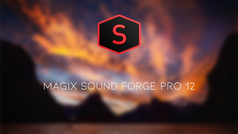 MAGIX SOUND FORGE Pro 12.1