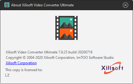 Xilisoft Video Converter Ultimate 7.8.25 Build 20200718
