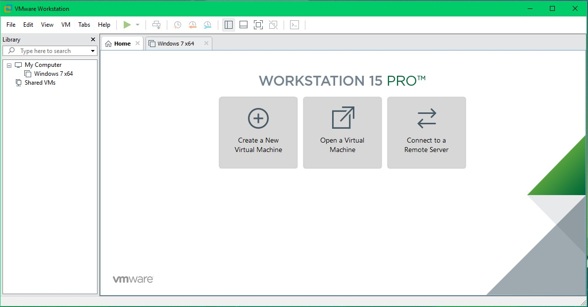 VMware Workstation Pro 15.1.0