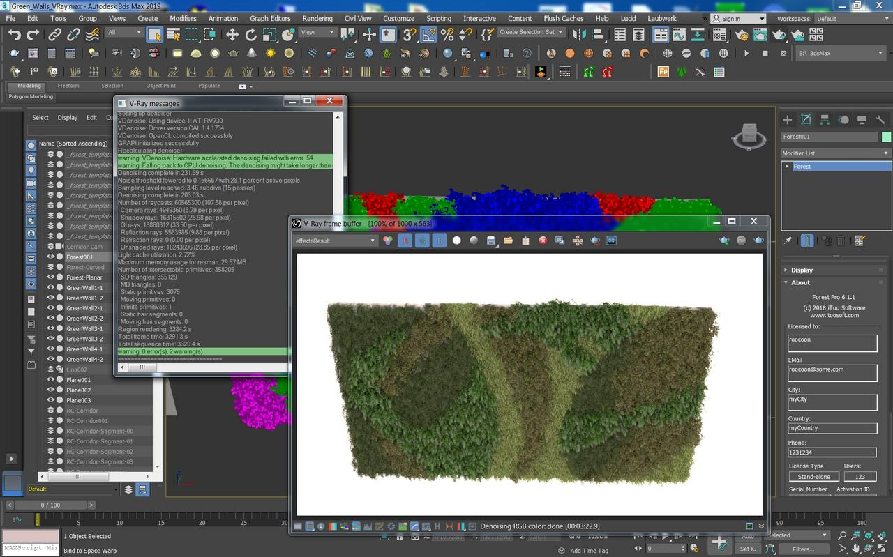 Forest Pack Pro 6.1.1 For 3DS MAX 2013 - 2019