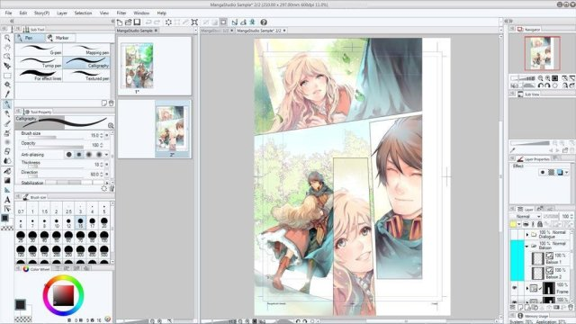 Clip Studio Paint EX 1.9.4 + Materials Full
