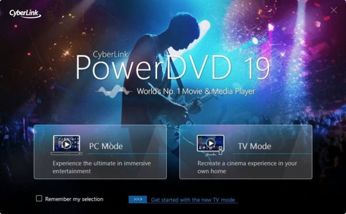 CyberLink PowerDVD Ultra 2019 v19.0