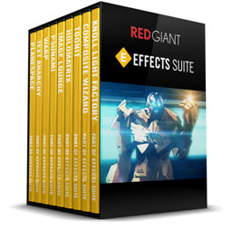 Red Giant Effects Suite 11.1