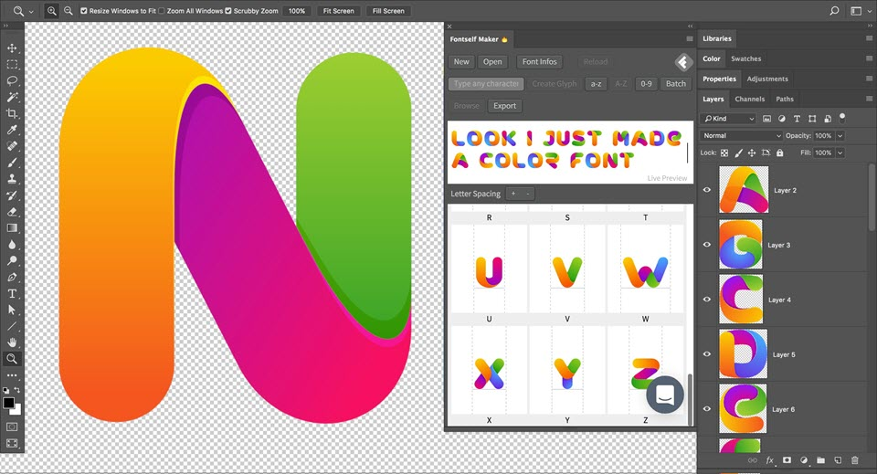 Fontself Maker For Illustrator v1.1.0