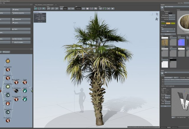 SpeedTree Modeler 8.2.1 Cinema Edition
