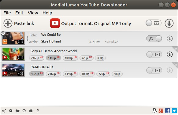 MediaHuman YouTube Downloader 3.9.9