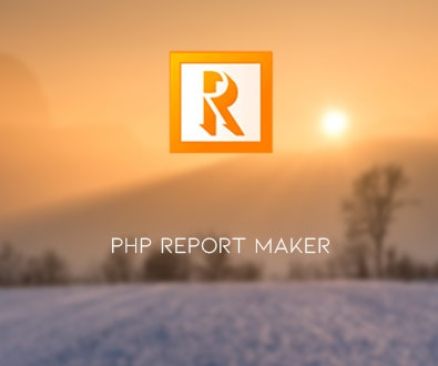 PHP Report Maker 12.0