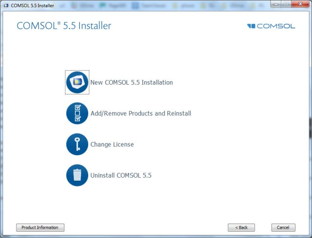 COMSOL Multiphysics 5.5.0