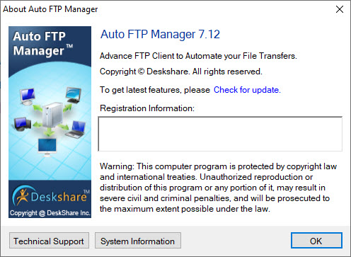 Auto FTP Manager 7.12