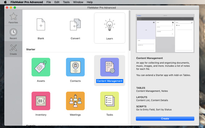 FileMaker Pro Advanced 18.0.1