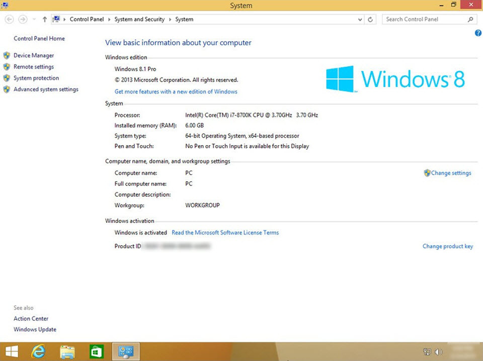 Windows 8.1 Pro AIO Pre-Activated ISO May 2019